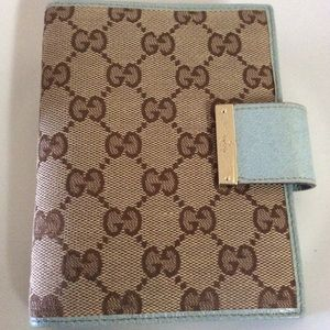 Gucci Folding Wallet Agenda
